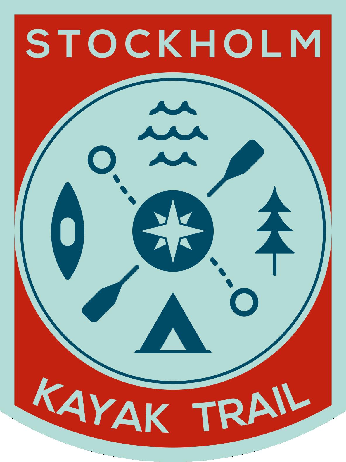Stockholms Kajakled Logotyp